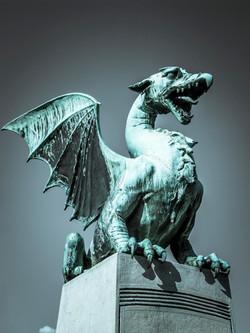 The Dragon Bridge - Ljubljana