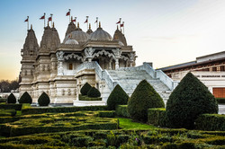 Tempio Hindu nella zona di Neasden