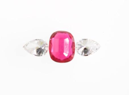 Percorsi creativi: anello di rubini