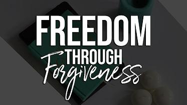 Freedom through Forgiveness course cover