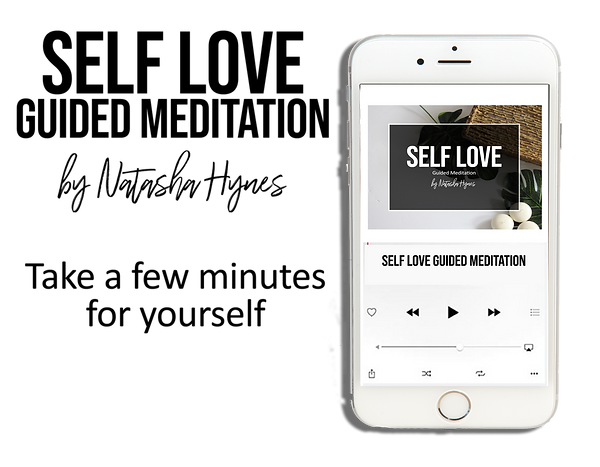 Self Love Guided Meditation Opt in promo