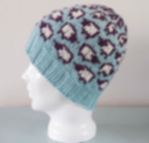 Knitted Sheep Beanie Hat