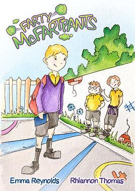 Farty Mcfartpants children's book