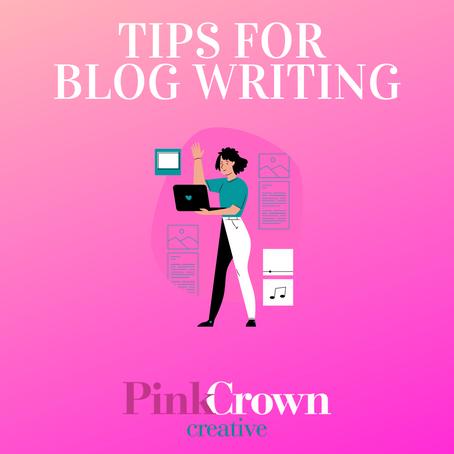 Tips for Blog Writing