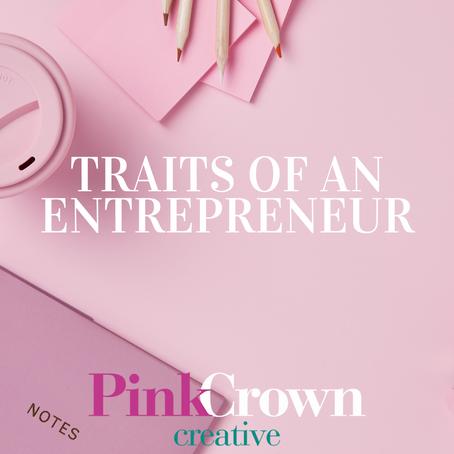 Traits of an Entrepreneur