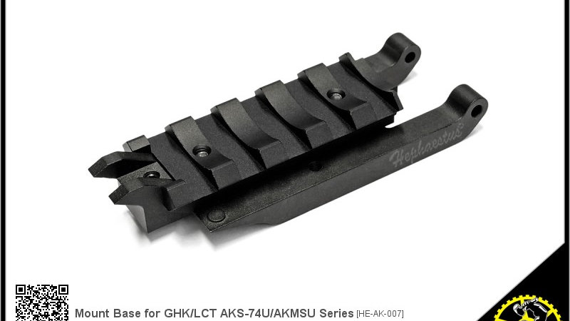 Mount Base for GHK LCT AKS-74U