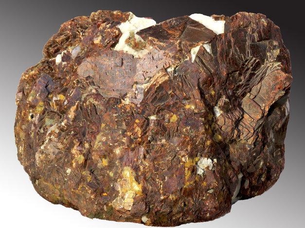Siderite in Cryolite from Ivittuut, Greenland