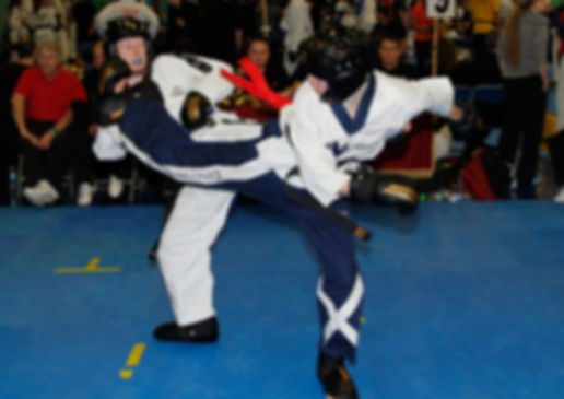 Taekwondo and fighting for your country!