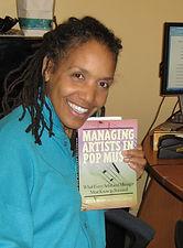 Perri Gaffney with Pop Music Book.jpg