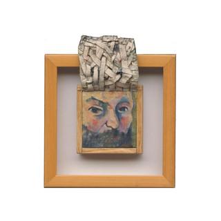Cezanne Self-Portrait (underpainting)