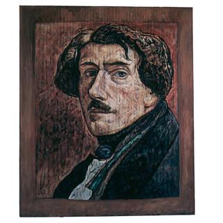Delacroix Self-Portrait