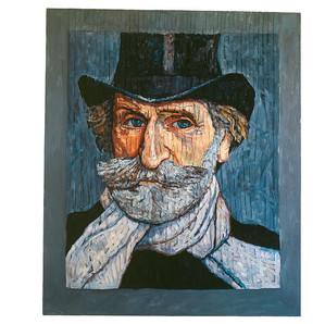Verdi Portrait by Boldoni