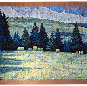 Field with Spruce Trees, Cape Breton, NS