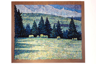 Field with Spruce Trees