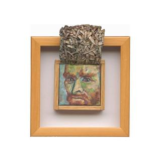Van Gogh Self-Portrait (underpainting)