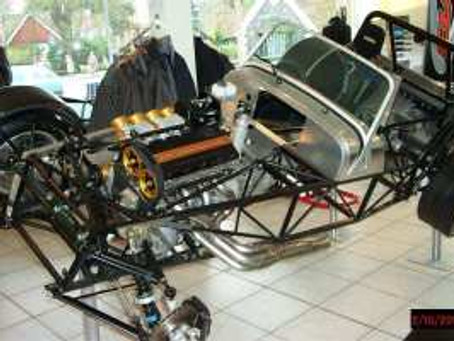 Caterham Cut Away Chassis