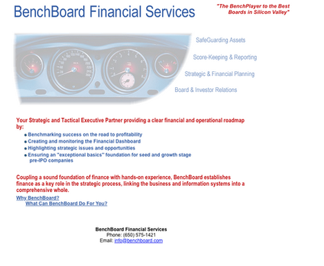Benchboard Financial Services