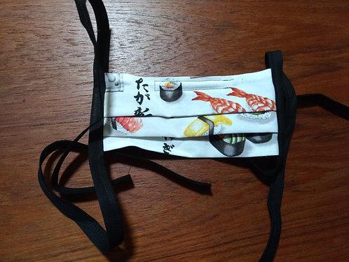 Pleated Sushi Mask