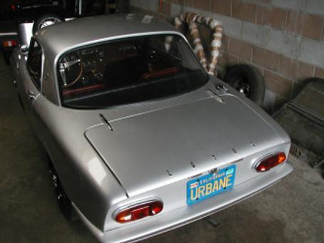 Rare 1966 Lotus Elan S2  Coupe with Original Red Interior