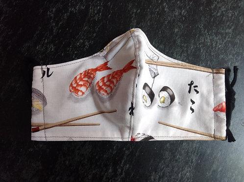 Shaped Sushi Mask