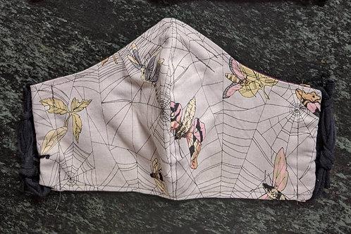 Shaped Ghastly Web Mask