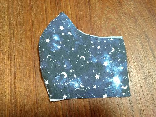 Shaped Zodiac Space Mask (child (3-6) size - only 1 left!)