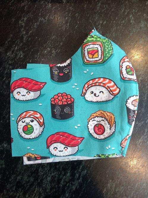 Shaped Cute Sushi Mask