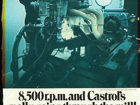 Lotus Twin Cam Castrol Ad