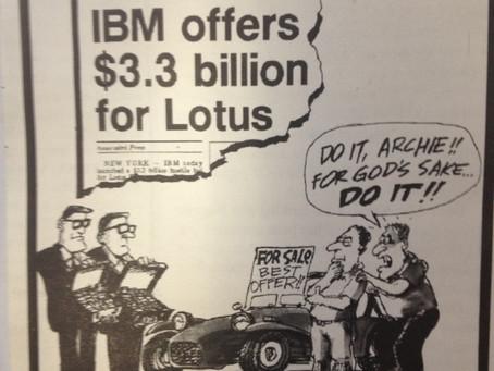 $3.3 Billion offered for Lotus 7!