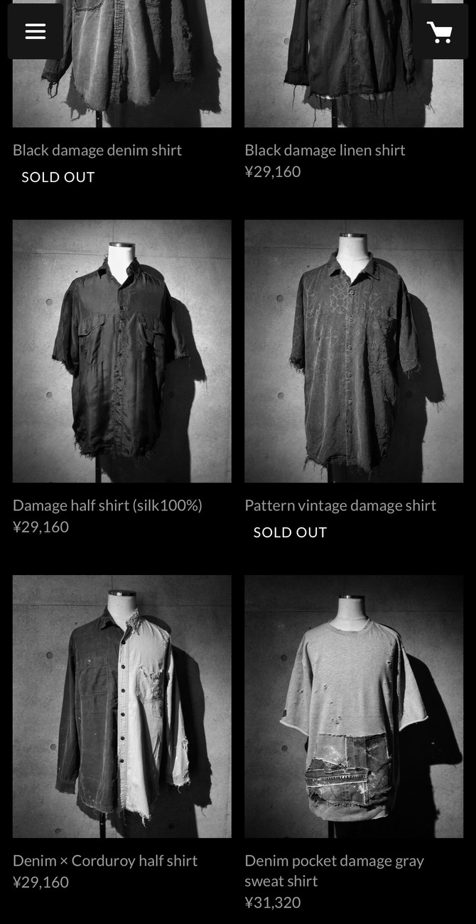 ONLINE SHOP -sold out-