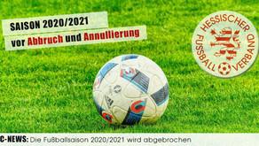 Abbruch und Annullierung der Saison 2020/2021
