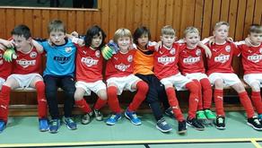 F-Jugend zeigte gute Leistung bei Hallenturnier in Borken