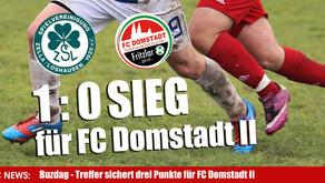 FC Domstadt Fritzlar II holt drei Punkte gegen die SpVgg Zella Loshausen II