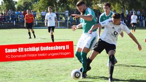 FC Domstadt nach Sieg gegen die FSG Gudensberg II weiter Spitzenreiter