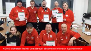 """Trainer und Betreuer absolvieren """"Bambini bis E-Jugend"""" - Seminar erfolgreich."""