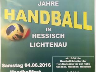 50 Jahre Handball in Heli