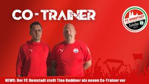 Tino Buddner neuer Co-Trainer bei FC Domstadt Fritzlar