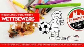 Großer Mal-/ Bastel- und Lego- Wettbewerb für Kinder zum Thema Fußball