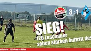 FC Domstadt Fritzlar punktet im Abstiegskampf der Kreisoberliga