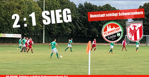 FC Domstadt Fritzlar bezwingt Schwarzenborn