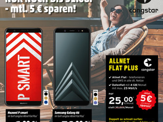 Congstar Allnet Flat mit Smartphone