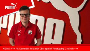 FC Domstadt Fritzlar freut sich über Neuzugang C.Ullrich