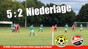 FC Domstadt Fritzlar verliert gegen SG Ohetal Frielendorf
