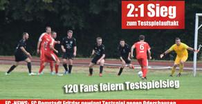 Testspielerfolg für FC Domstadt Fritzlar