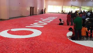 Vodafone knackt Weltrekord aus Heli