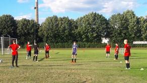 Tolle Stimmung bei Trainingsauftakt der neuen B-Jugend des FC Domstadt Fritzlar