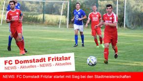 FC Domstadt startet mit Sieg bei Stadtmeisterschaften