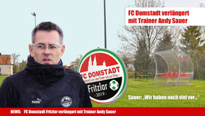 FC Domstadt Fritzlar verlängert mit Trainer Andy Sauer