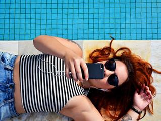 Die Hitze bedroht Smartphones