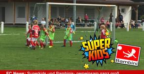 Superkids und Bambinis- gemeinsam ganz groß